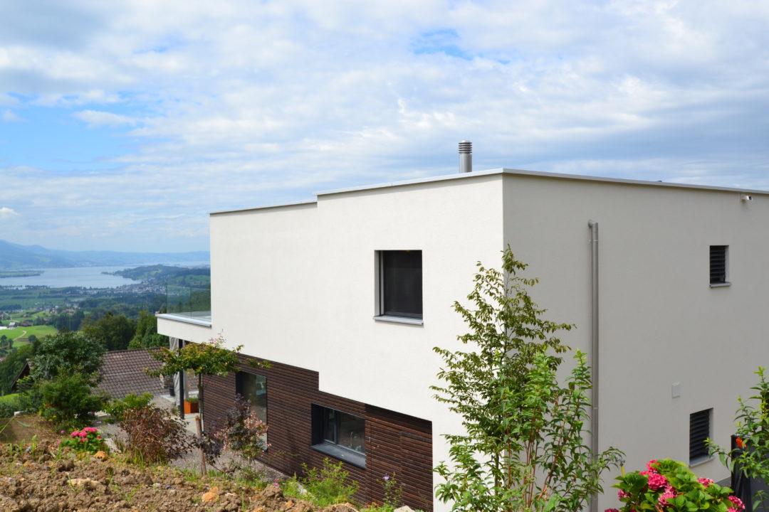 EFH Ottenhofen-MO-Architektur-Uznach-Linthgebiet-Ostschweiz-Einfamilienhaus-Uetliburg-Modern-Seesicht