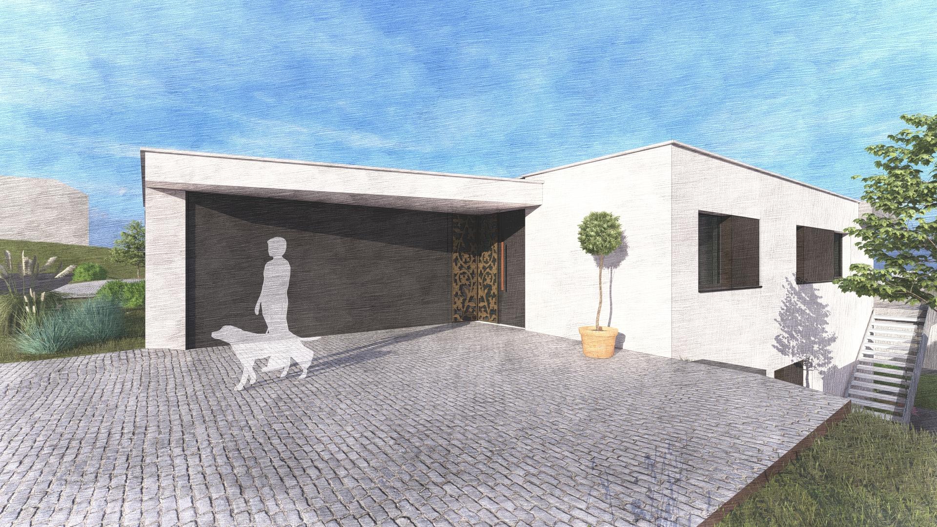 Haus 8 - Eingang-EFH-Lindenbächli-Uetliburg-MO-Architektur-Uznach-Linthgebiet-Ostschweiz-