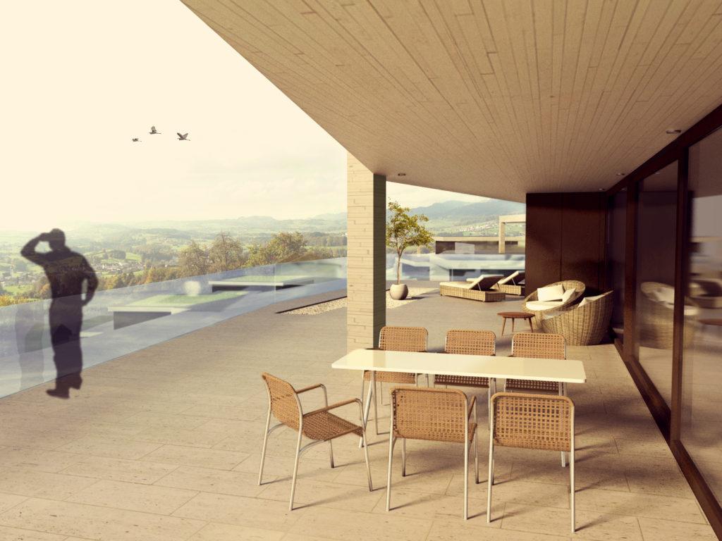 Visualisierungen Terrassenhäuser Vogelsagen Uetliburg-MO-Architektur-Uznach-Linthgebiet-Ostschweiz-3